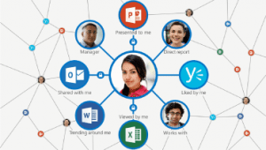 Teamwork met Microsoft Office delve blog
